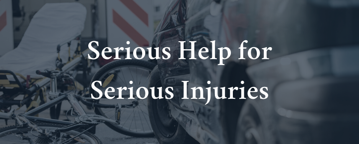 serious help for serious injuries - san francisco bicycle accident lawyers